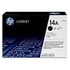 HP #14A Black Original LaserJet Toner Cartridge
