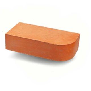Кирпич угловой для Печи Керамика 25x12x6,5 см