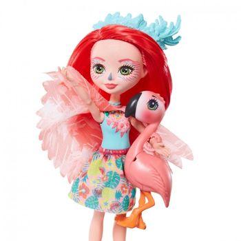 купить Enchantimals Кукла Фенси Флэмингo и Свош в Кишинёве