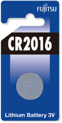 Fujitsu baterii Lithium CR2016 ,3V