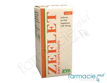 купить Zeflet pulb./susp. orala100 mg/5 ml 30 ml N1 (Cefixim) в Кишинёве