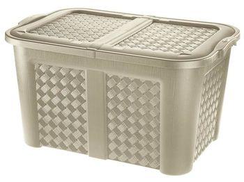купить Коробка с крышкойArianna 123l, 79X55Х45cm в Кишинёве