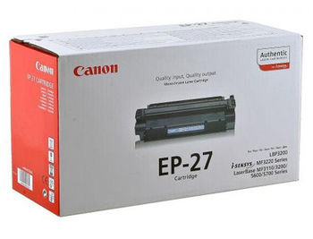 Cartridge Canon EP-27, for LBP-3200, MF 3110, 3200, 5600 (up to 2500 copies) (cartus/картридж)