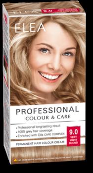 Краска для волос,SOLVEX Elea, 138 мл., 9.0 - Блондин