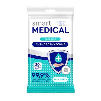 cumpără Smart Medical șervețele umede antiseptice N20 în Chișinău