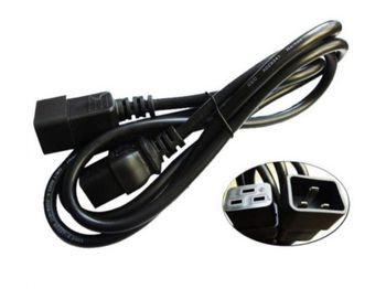 4.3m, 10A/100-250V, C13 to IEC 320-C14 Rack Power Cable