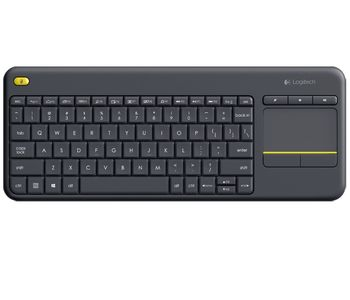Logitech Wireless Touch Keyboard K400 Plus, Multi-touch touchpad, Nano receiver, USB, Retail