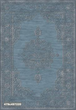 """Ковёр F-SHE 479с497220 """"Классический орнамент, глубокий синий цвет"""""""