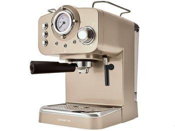 Coffee Maker Espresso Polaris PCM1532E Champagne