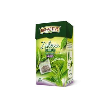купить Чай зеленый Big Active with Bergamot, 20 шт в Кишинёве