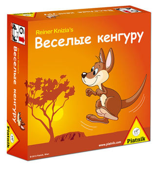 """Настольная игра """"Веселые кенгуру"""", код 41427"""