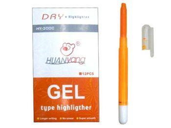 Textmarker gel HY-300 orange