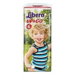 купить Libero трусики UPGO 6, 13-20кг.38 шт в Кишинёве