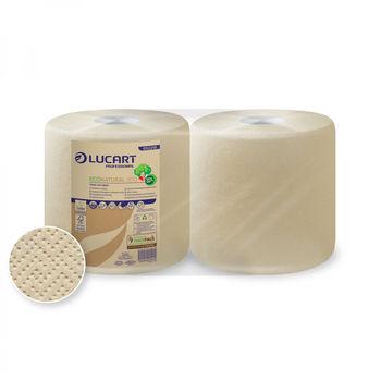 ECONATURAL 800 Бумажные полотенца эко с центральной вытяжкой 2 слоя 800 отрывов