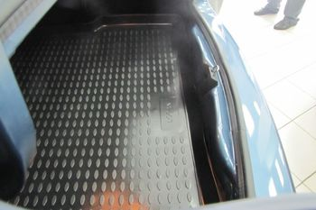 DACIA / RENAULT Logan 2004-2009, 2010->, сед. Коврик в багажник