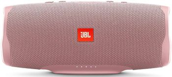 JBL Charge 4 Pink / Bluetooth Portable Speaker, 30W (2x15W) RMS, BT Type 4.2, Frequency response: 60Hz-20kHz, IPX7, Speakerphone, 7800mAh power bank USB 5V / 2A, JBL Connect+,  JBL Bass Radiator, Power Supply: 5V / 2.3A, Battery life (up to) 20 hr
