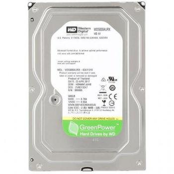"HDD 3.5"" Western Digital 500GB WD5000AVVS  AV-GP™, IntelliPower, 8Mb, SATAII"