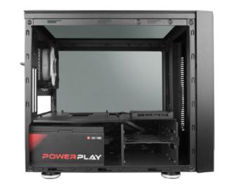 купить Case mATX Chieftec Chieftronic M1, w/o PSU, 1x120mm RGB, 2xUSB3.0, 2xUSB2.0, Temperd Glassl, Black в Кишинёве