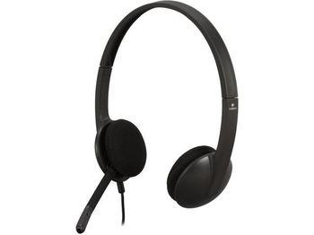 Logitech USB Headset H340, Noise-canceling Microphone, Headset: 20–20,000 Hz, Microphone: 100–10,000 Hz, USB