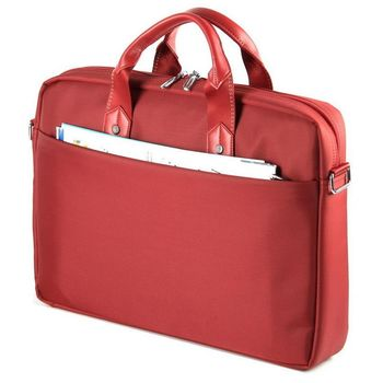 "15.6"" NB Bag - CONTINENT CC-045 Red, Top Loading"