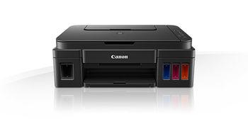 MFD Canon Pixma G2400, Color Printer/Scanner/Copier, A4, Print 4800x1200dpi_2pl, Scan 600x1200dpi, ESAT 12.2/8.7 ipm,64-275г/м2, LCD display_6.2cm,USB 2.0, 4 ink tanks: GI-490BK,GI-490C,GI-490M,GI-490Y