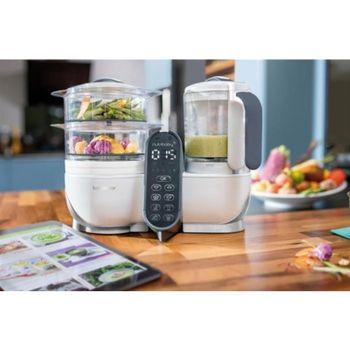 купить Babymoov кухонный комбайн многофункциональный Nutribaby Loft White 5 в 1 в Кишинёве