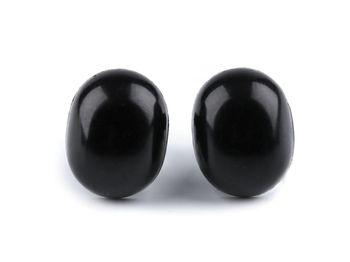 Nas / Ochi pentru jucării cu dispozitiv de siguranță, 13x16 mm