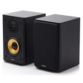 "Edifier R1000T4 Black, 2.0/ 24W (2x12W) RMS,  Audio in: 2x RCA, wooden, (4""+1/2"")"