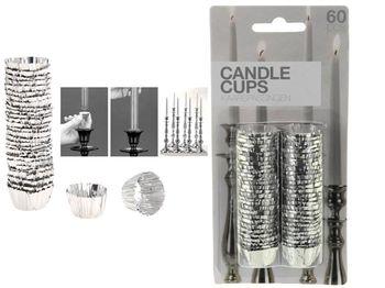 cumpără Set de sigilii pentru lumânări din folie-aluminiu 60buc în Chișinău