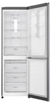 Холодильник с нижней морозильной камерой LG GA-B419SLUL, 302л, 191см, A+