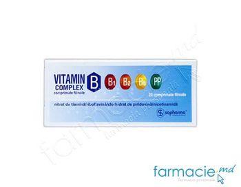 купить Vitamina B complex comp. film. N20 в Кишинёве