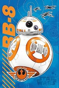"""14618 Trefl Puzzles-""""60 Glow in the Dark"""" - BB-8 is coming/Star Wars"""