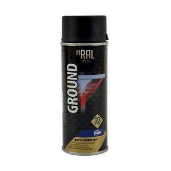 InRal Грунт-аэрозоль Ground Черный 400мл