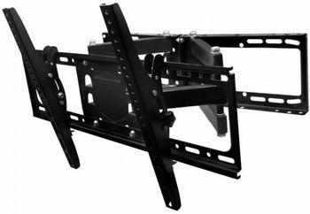 "купить Wall Mount  Gembird ""WM-70RT-01"" Black 26""-55"", 50kg, VESA:up400x400, Wall distance:125-470mm в Кишинёве"