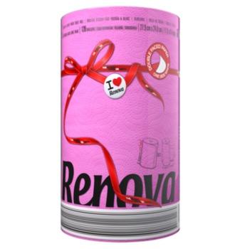 """купить RENOVA Бумажные полотенца """"Fucsia"""" (1) 8020879 в Кишинёве"""
