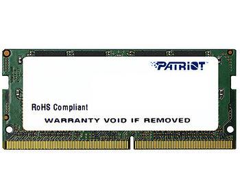4GB SODIMM DDR4 Patriot Signature Line PSD44G240081S PC4-19200 2400MHz CL17, 1.2V