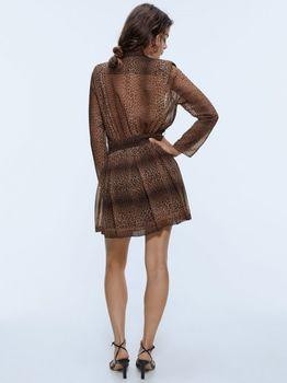 Платье ZARA Леопардовый принт 8561/105/042
