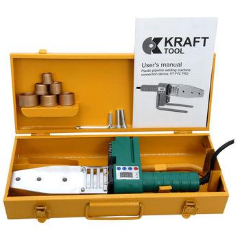 Сварочный аппарат для пластиковых труб 1250W KTPVC Master KraftTool