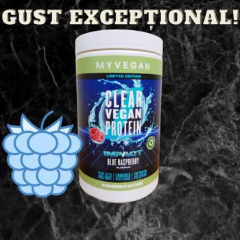 Прозрачный веганский протеин (Clear Vegan Protein) - Голубая малина - 0.5 KG