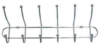 купить Планочка с крючками 50 см  мет. 291273 в Кишинёве