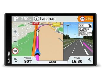 "GARMIN DriveSmart 61 LMT-S, Licence map Europe+Moldova, 6.95"" LCD (1024*600), MicroSD, Bluetooth, WiFi, Hands-free calling, Junction view, Lane assist, Smart notifications,Lifetime traffic updates, Battery life up to 1 hours, 243g"