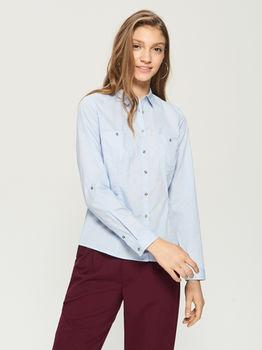 Блуза Sinsay Голубой