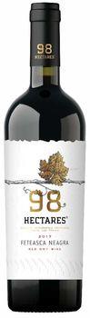 """Vinuri de Comrat 98 Hectares """"Feteasca Neagră""""  sec roșu,  0.75 L"""