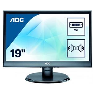 """купить AOC 18.5"""" LED e975swda, чёрный в Кишинёве"""