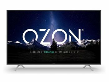 "купить 50"" LED TV OZON H50Z6000, Black (3840x2160 UHD, SMART TV, PCI 1500Hz, DVB-T/T2/C/S2) в Кишинёве"