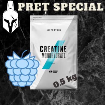 Креатин моногидрат - Синяя малина - 0,5 кг