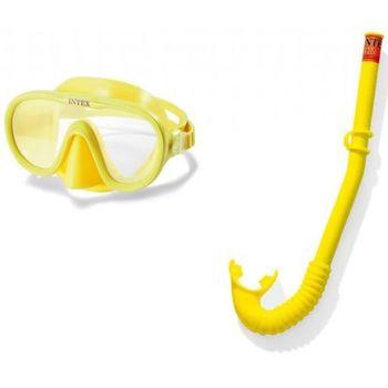 купить Набор Маска + Трубка PLAY для плавания Adventurer, 8+ в Кишинёве