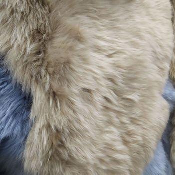 """Шкура из молодой австралийской овечки 2,10-2,20 мX0,65-0,70 м """"TAUPE"""" double"""