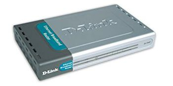 D-LINK DI-704P/E, Broadband Router with PrintServer, 4-port UTP 1-/100Mbps, Auto sensing
