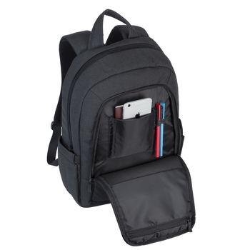 "15.6"" Рюкзак для ноутбука RivaCase 7560, Canvas Black"
